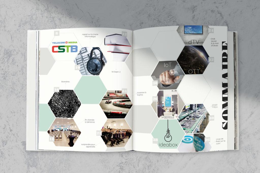 Journal d'entreprise - Lucie C.   Graphisme et Communication